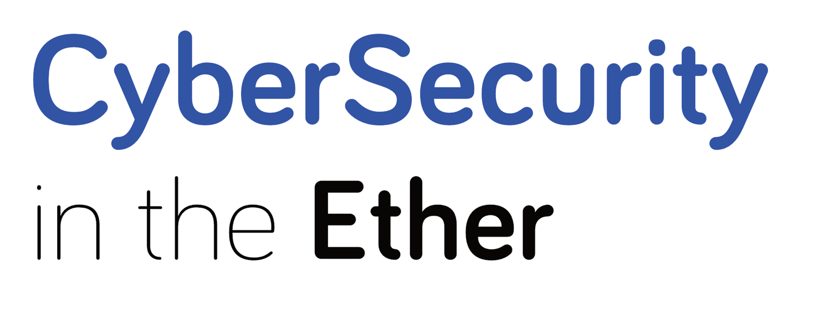 CyberSecurity in the ether logo